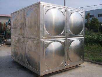 张家口立方不锈钢水箱_304不锈钢消防水箱定制安装