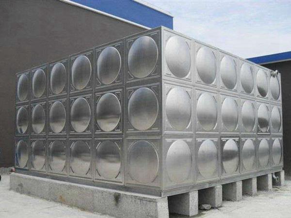 可定制不锈钢304方形消防水箱