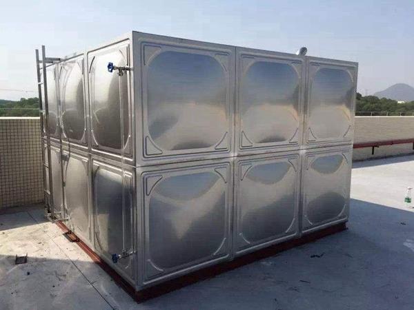 厂家热销立式方形不锈钢方型水箱