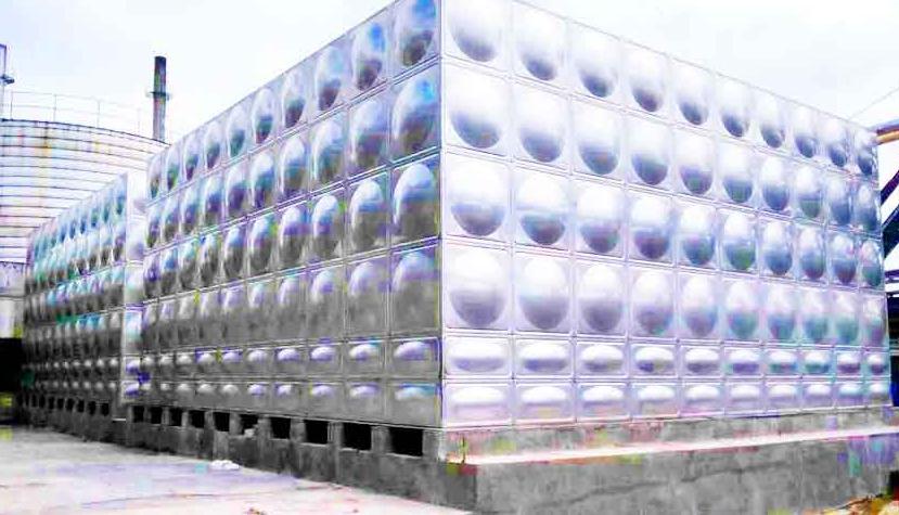 玻璃钢水箱安装图