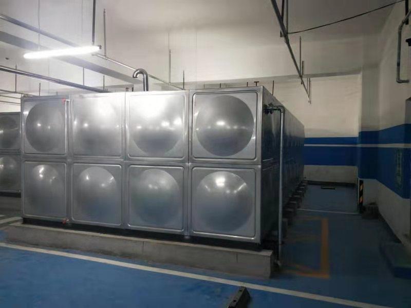 宣化华耐家具人防工程玻璃钢水箱安装项目