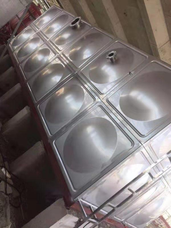 张家口高铁站不锈钢消防水箱项目