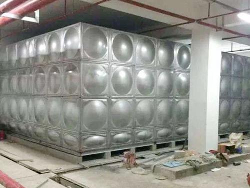 不锈钢方形水箱图