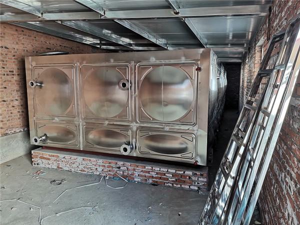 宣化王家湾卫生院煤改电工程保温水箱