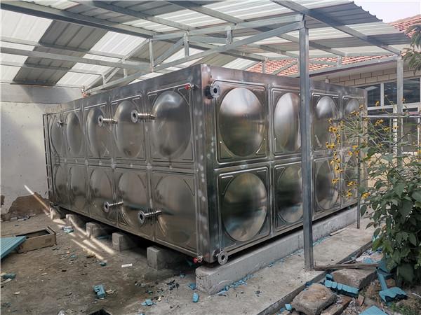 宣化顾家营卫生院煤改电工程保温水箱