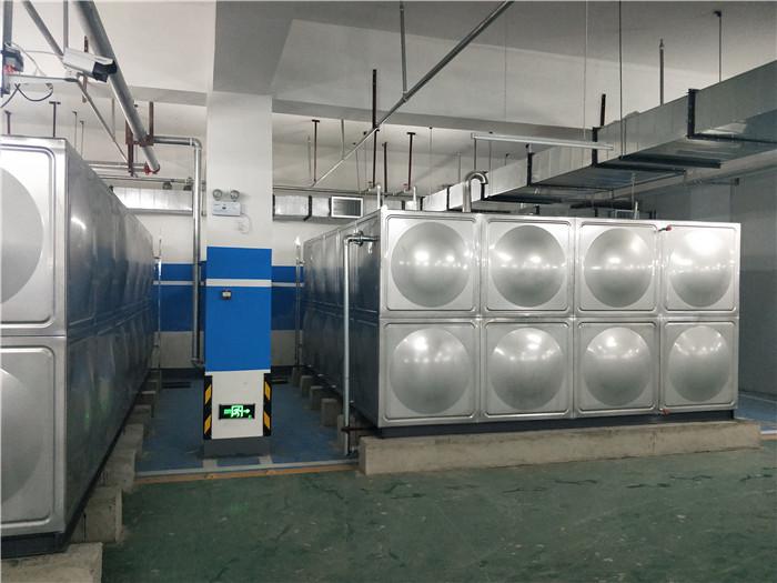 宣化华耐家具人防工程水箱群