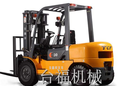 台福机械杭州叉车
