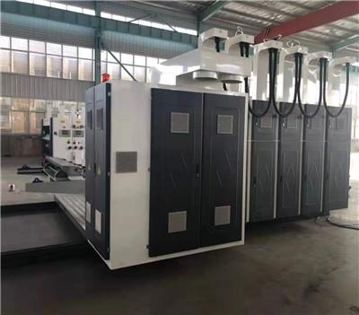 郑州多色水墨印刷开槽机批发