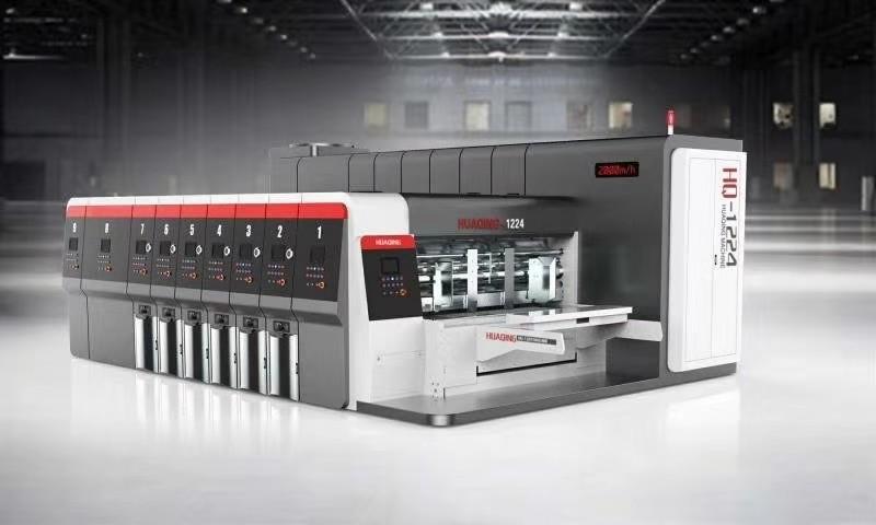 郑州印刷机使用案例