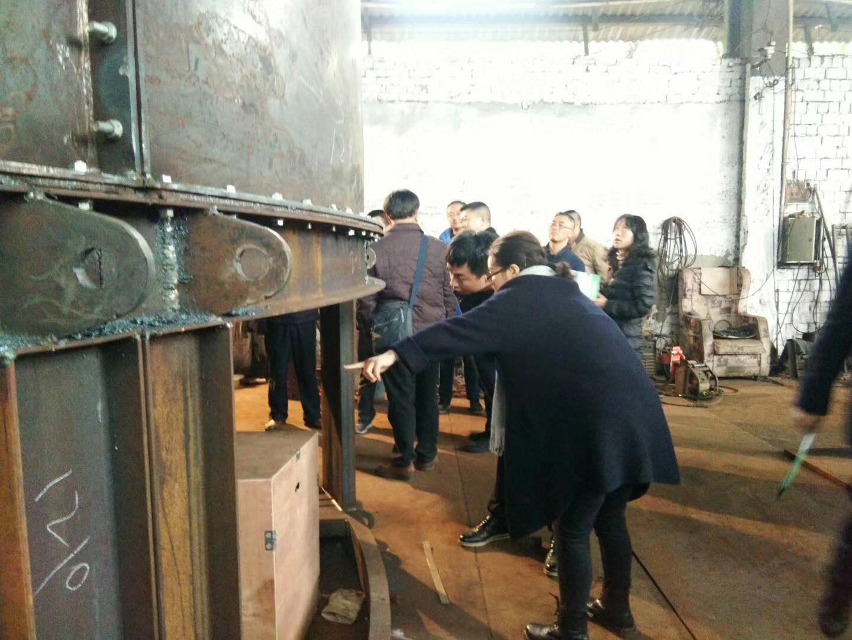 牛粪发酵罐厂区环境