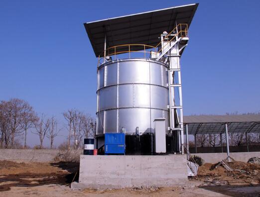 人工制品如何高效发酵鸡粪和猪粪处理的,畜禽粪便发酵罐厂家给大家详解?