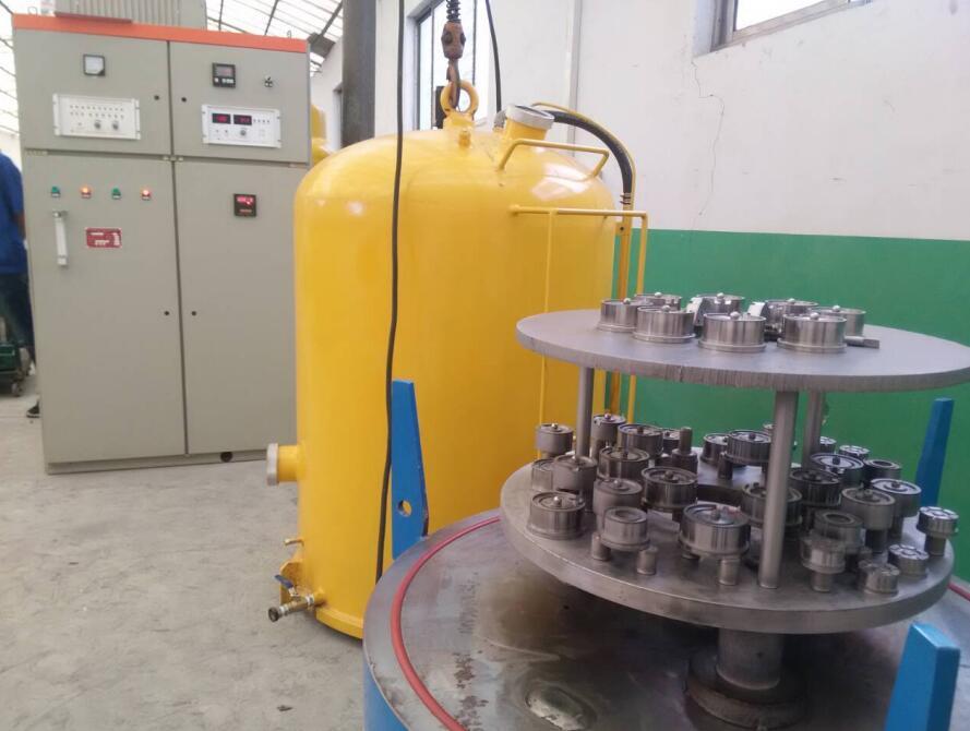 离子氮化炉新工艺之一:电子提花机电磁铁组件系列