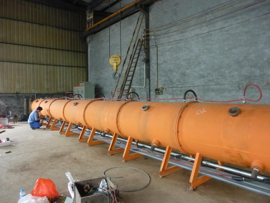 18米深离子氮化炉调试