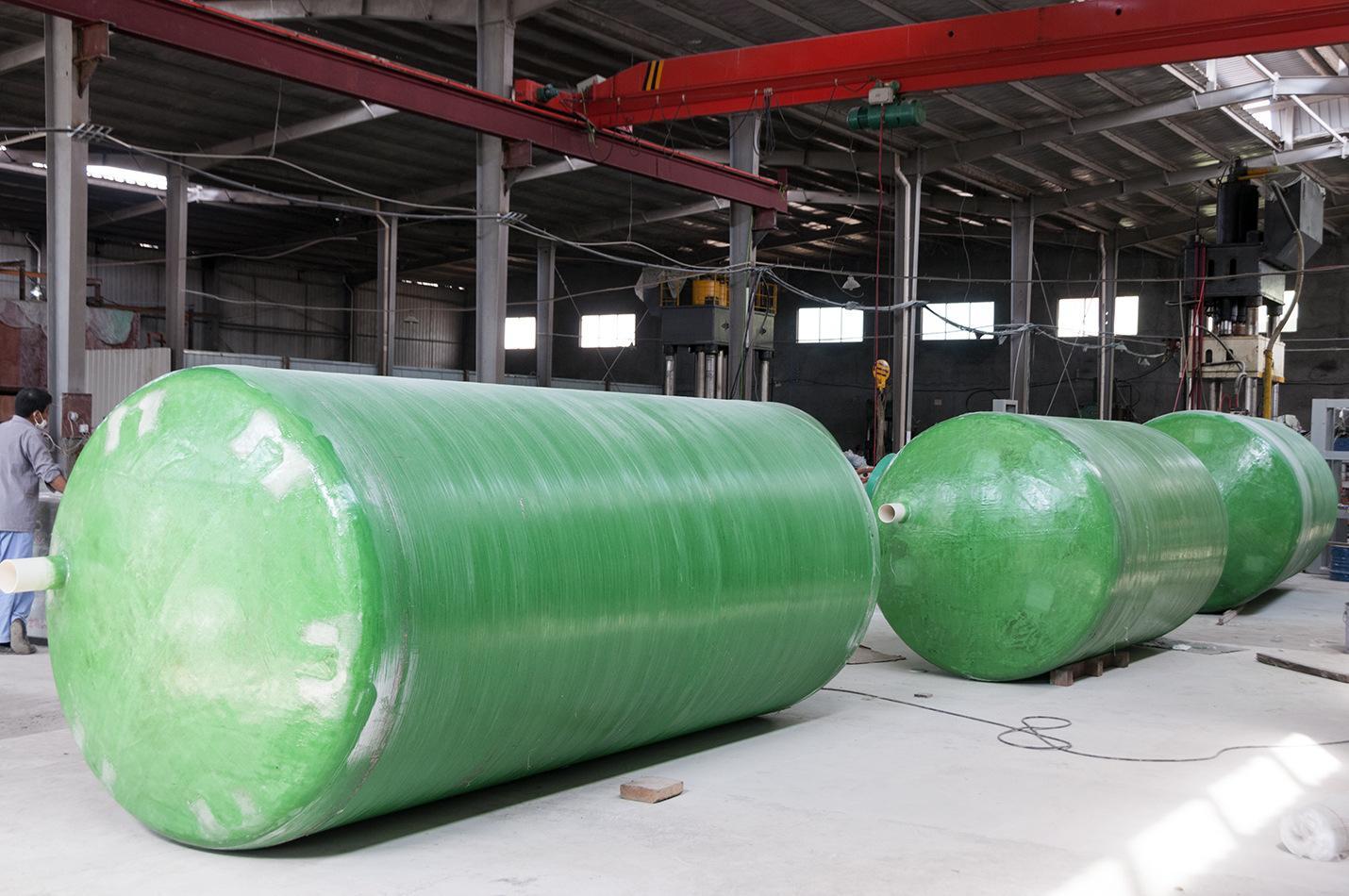 南阳玻璃钢化粪池安装方便,质量有保障