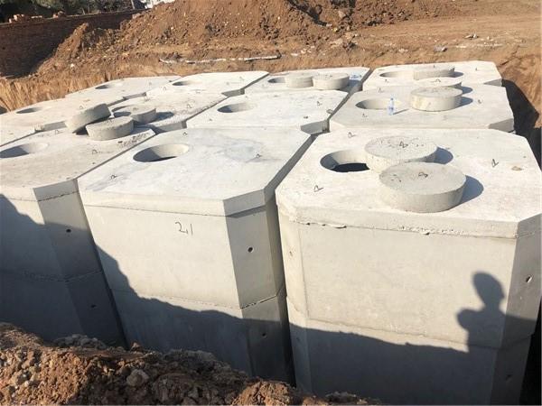 水泥组合化粪池