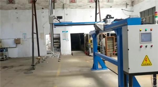 桁架码垛三轴联动出厂前测试
