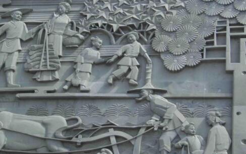 浮雕壁画雕塑的艺术特点使得现代景观雕塑上了一个档次!