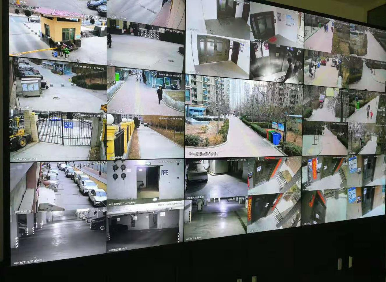 兰州皋兰县汇金广场楼宇对讲系统|监控系统及停车场收费系统