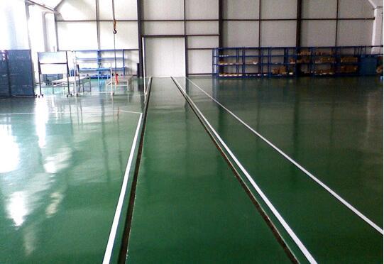陕西环氧地坪漆的优势和环氧中涂漆的使用