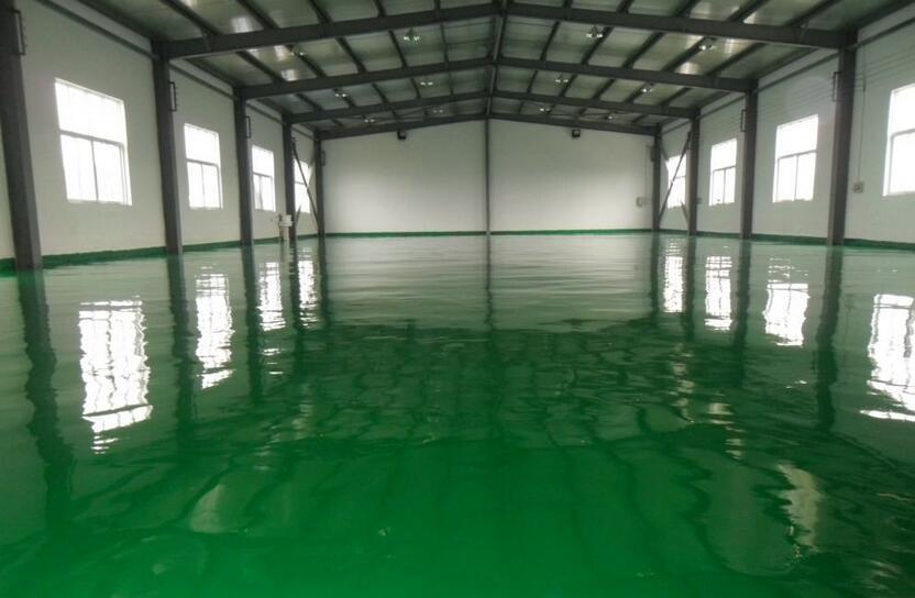 陕西环氧地坪漆厂家施工过程