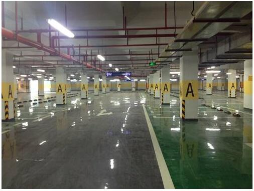地下停车场地坪