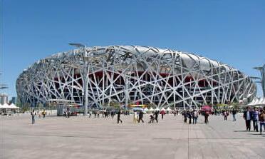 风华线缆有限公司为北京鸟巢安装铝合金线缆!