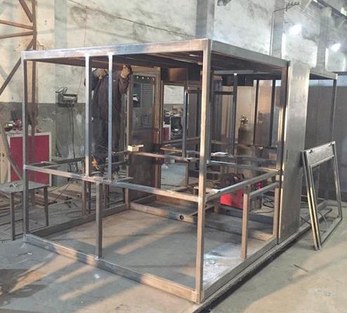 西安鈑金不鏽鋼機箱機櫃加工的工藝流程