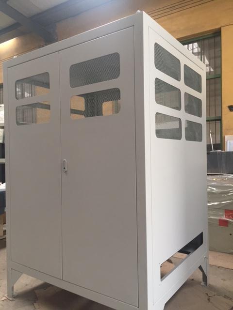 西安不锈钢机柜加工案例