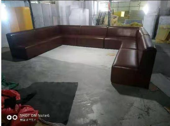 KTV光面沙发