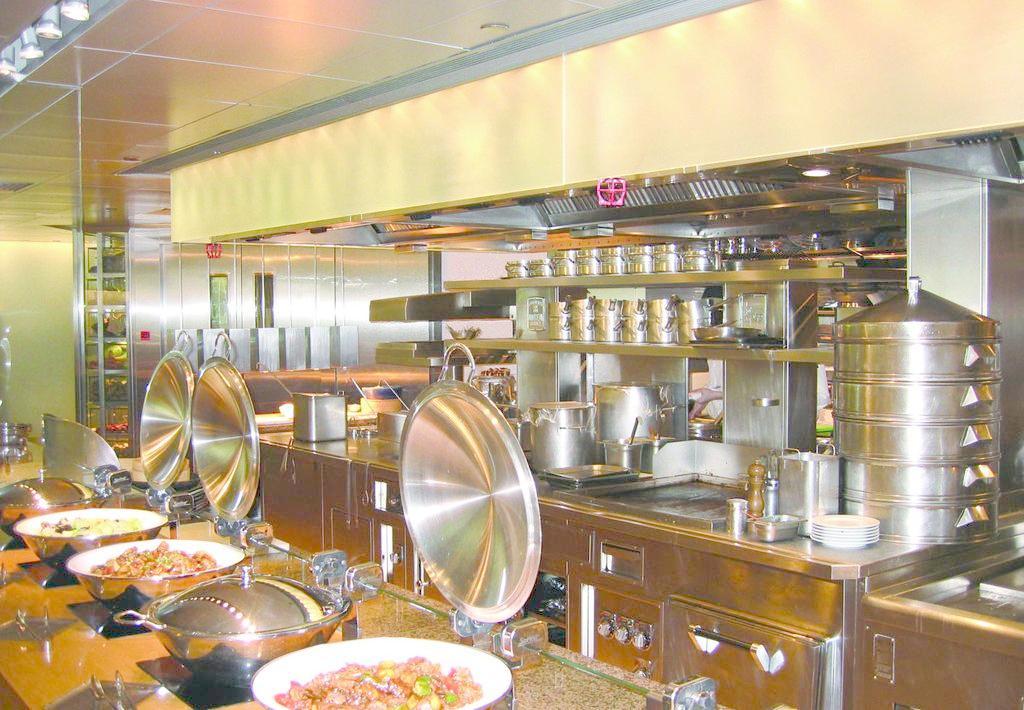 酒店厨房用品合作客户