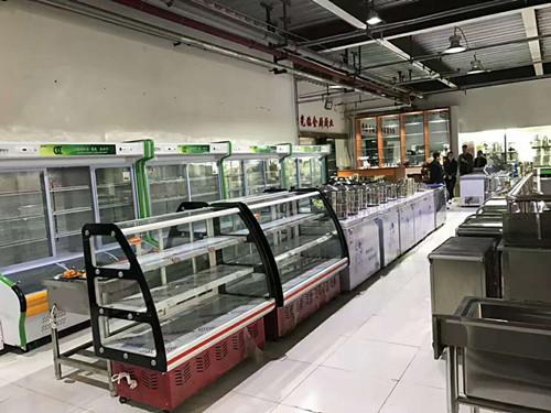 制冷设备展示区