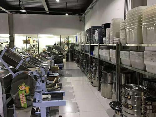 厨房厨杂展示区