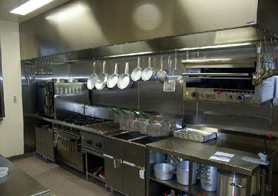 商业餐饮厨房设备案例