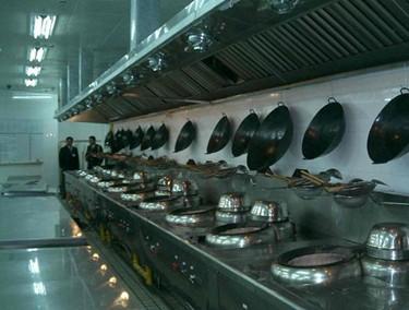 餐饮厨房设备安装案例