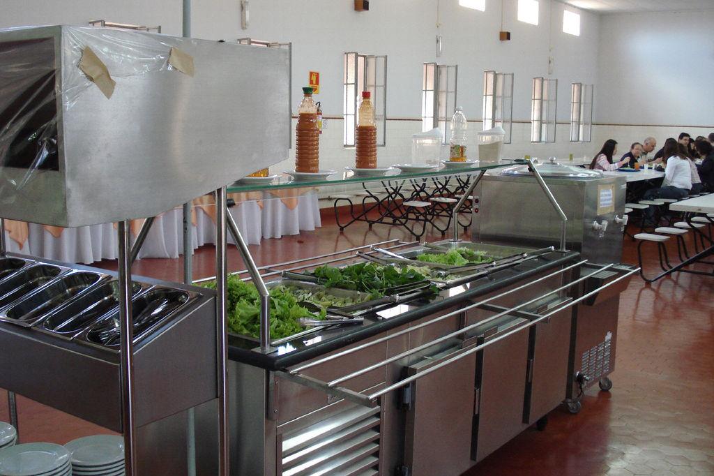 工厂职工厨房设备项目案例