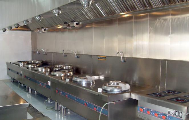 酒店厨房设备案例