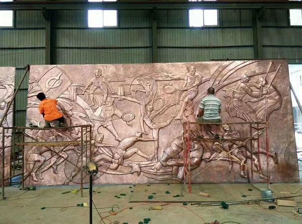 铜浮雕施工团队