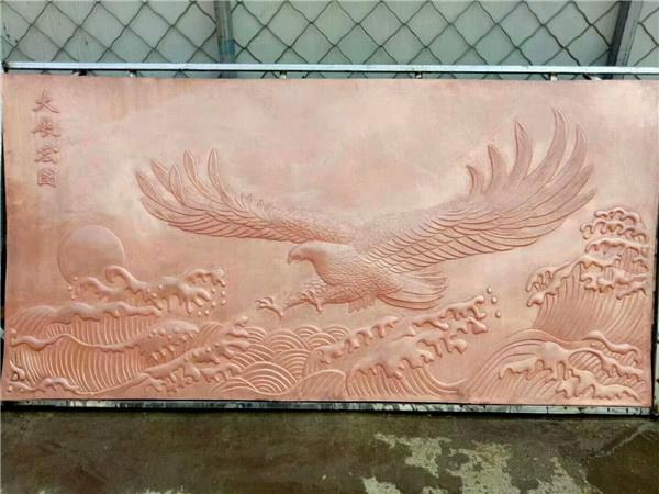 铜浮雕展示
