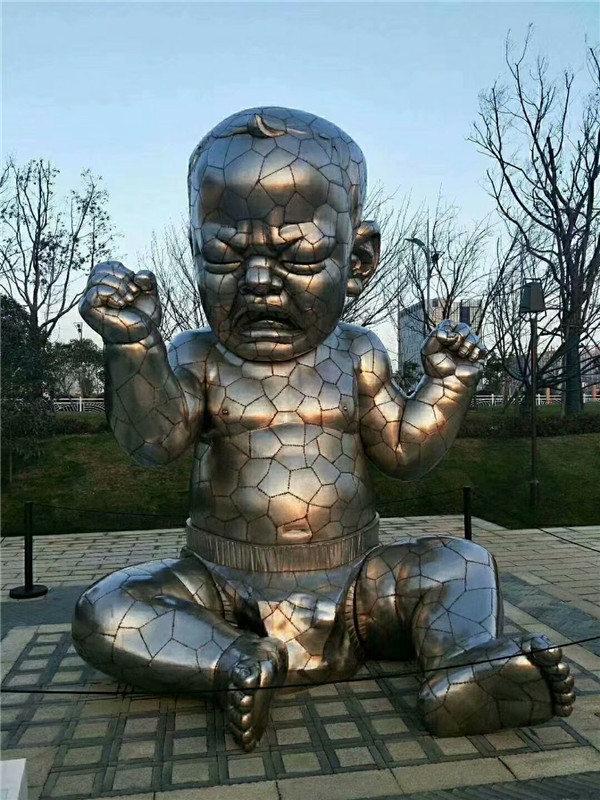 不锈钢雕塑展示
