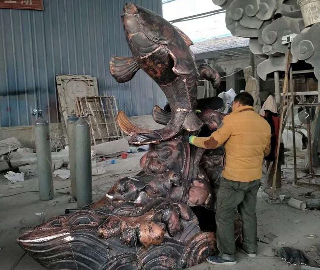 铸铜雕塑展示
