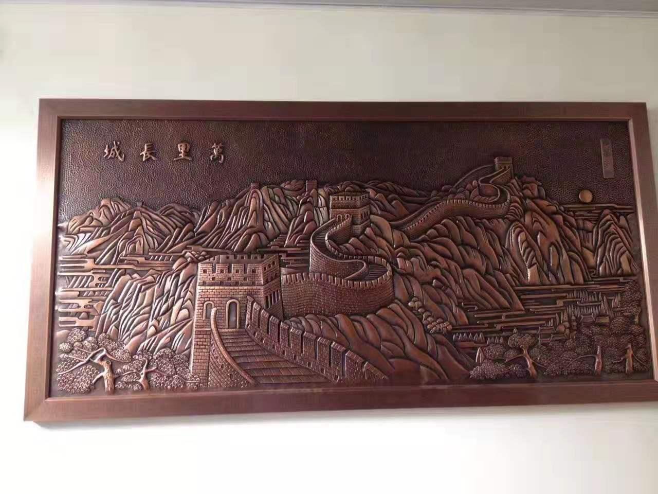 陕西铜浮雕制作