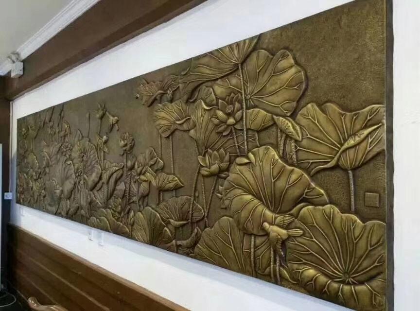 铜浮雕施工