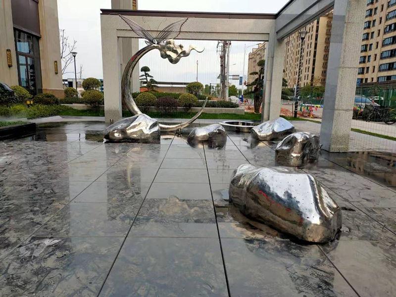 陕西不锈钢雕塑施工