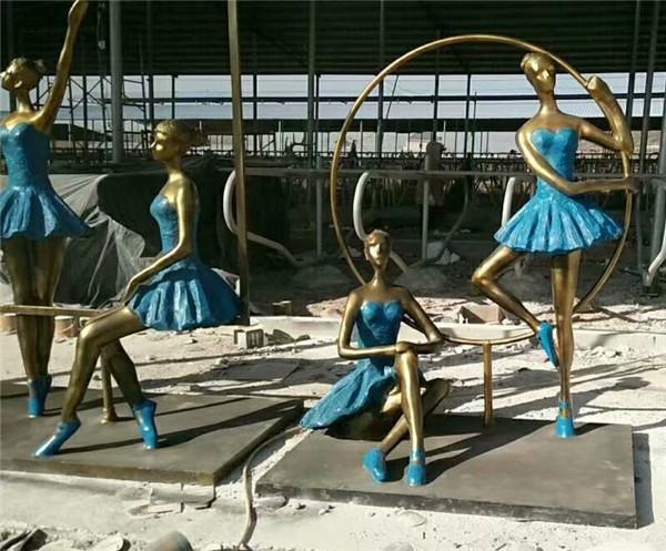 铸铜雕塑制作施工案例