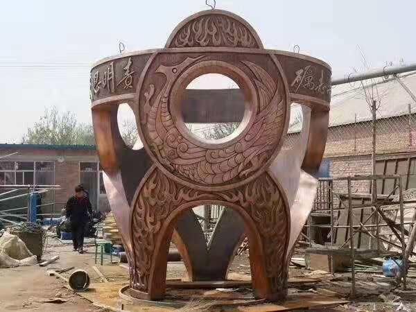 陕西铸铜雕塑设计厂家
