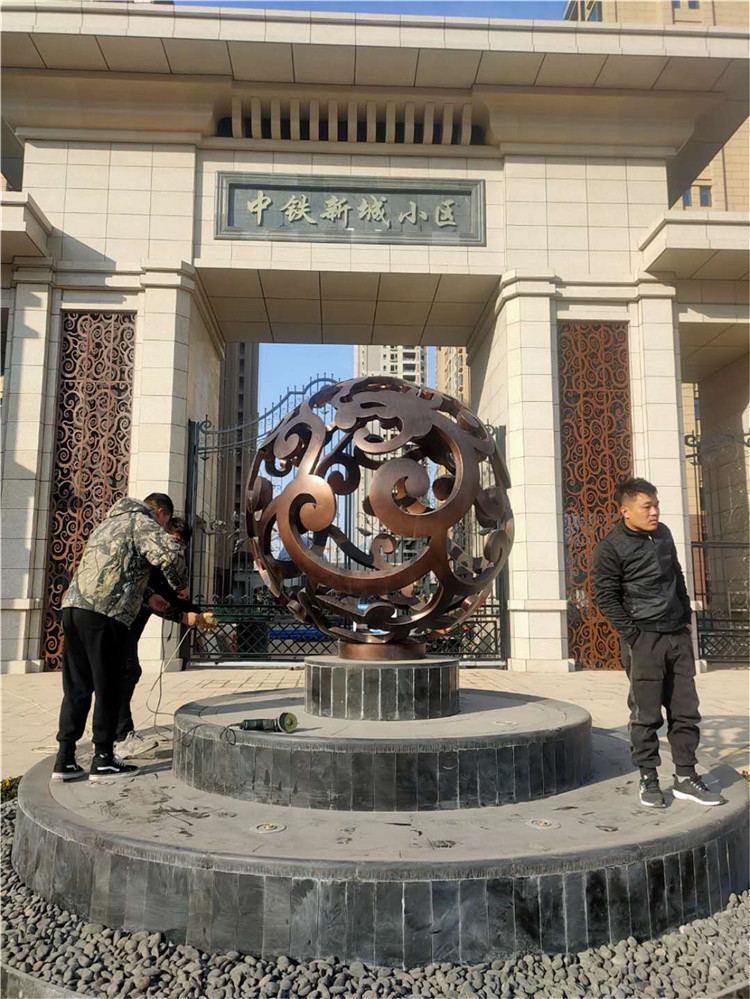 玻璃钢雕塑合作展示