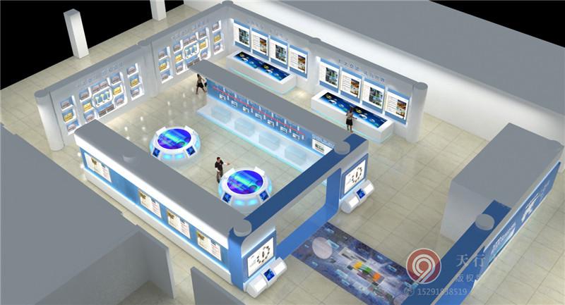 建磊企业展厅-西安展厅设计