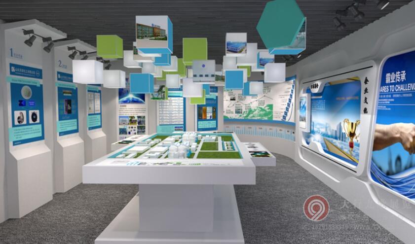 开源化工企业展厅设计项目