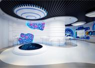 科技感企业展厅设计项目