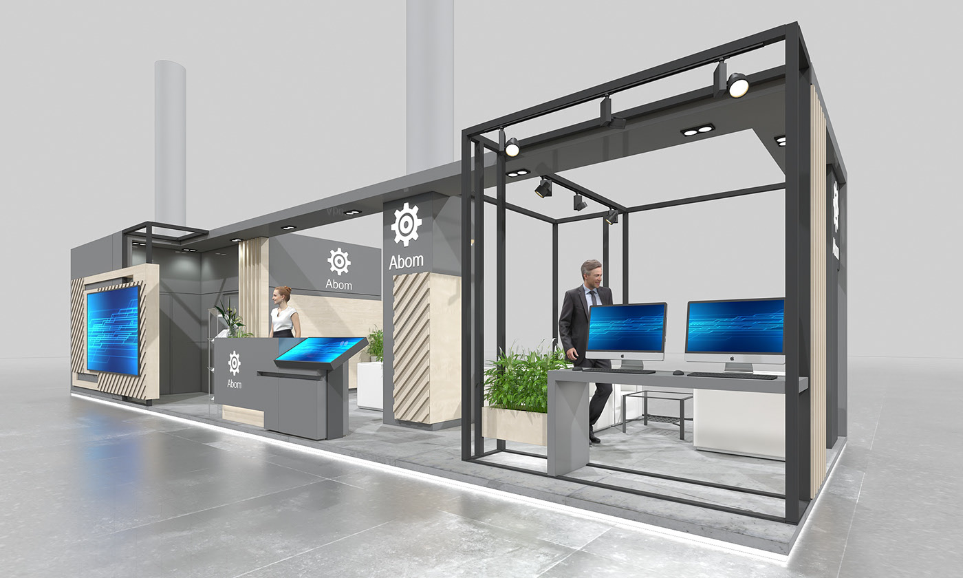 如何在展台建设中做好展位设计,西安展台设计公司给大家详解!
